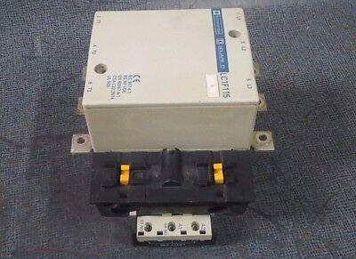92-110 VAC COIL  MODEL LC1F115 600V SQUARE D TELEMECANIQUE CONTACTOR 175 AMP