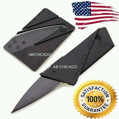 Credit Card Thin Knives Cardsharp Wallet Folding Pocket Micro Knife new USA SHIP