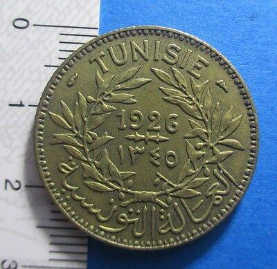 Tunisia 2 Francs 1926 Km 248 #861# 3