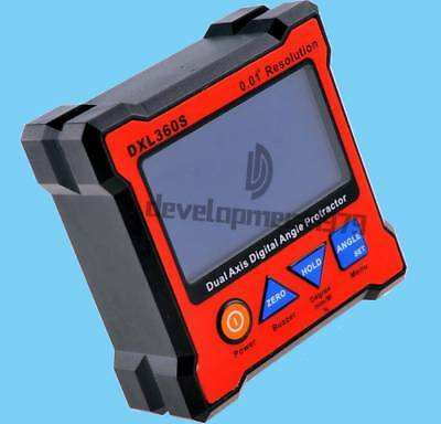High-precision Dual Axis Digital Protractor Inclinometer Level Box 0.01° DXL360S 2