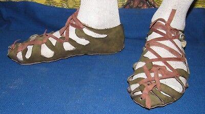 Ancient Sandals Scythian-Sarmatia Handmade Authentic replica