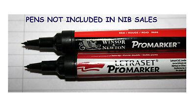 GRATUIT ROYAUME-UNI p/&p PROMARKER Winsor /& Newton Ultra fine plumes Pack De 3.NEW