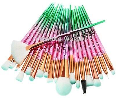 20PCS Make Up Brushes Set Eyeshadow Eyeliner Lip Powder Foundation Blusher Tool 2