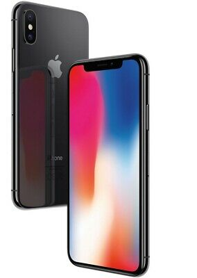 Apple iPhone X 64GB 256GB GSM Factory Unlocked Smartphone Cell Phone Grey Silver 2