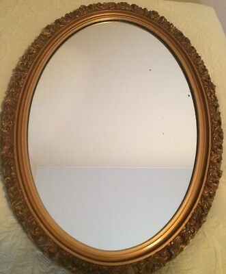 LG ORNATE Hollywood Style FRENCH REGENCY Wall MIRROR Uttermost USA 2