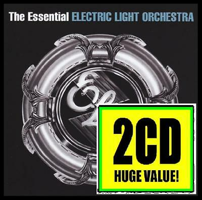 ELECTRIC LIGHT ORCHESTRA (2 CD) THE ESSENTIAL ~ 70's JEFF LYNNE ELO BEST *NEW* 2