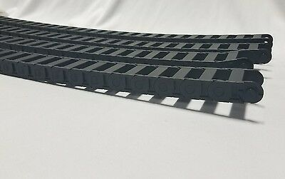 "Lot of 4 igus chain flex cables iglide - Plastic Bearings - 17"" B15-038038-3MC"