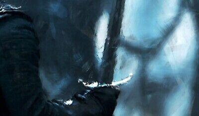 Jon Snow Poster, Game of Thrones, Battle of the Bastards, Print, Wall Decor 4
