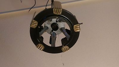 Markel 6 Light Chandelier 100% Restored Industrialized  Edison St64 60w Bulbs 5