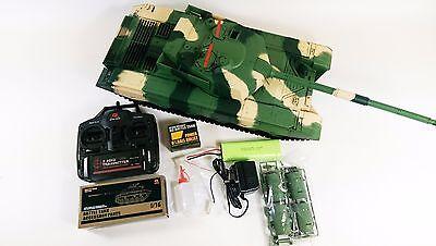 755485f1f602 HENG LONG CHINA Army T99 1 16 RTR RC Model Toy Tank 2.4Ghz SOUND ...