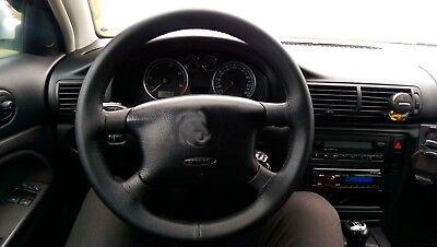 aguja Funda de volante para Bmw E36 realizada en cuero liso o perforado hilo
