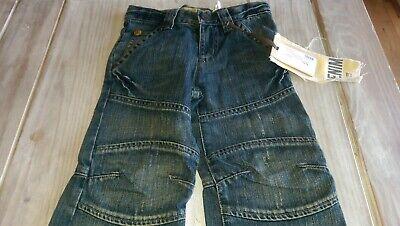 SAVE£40 New Ikks Designer rrp£59.99 boys denim jeans 6yrs BNWT adjustable waist 5