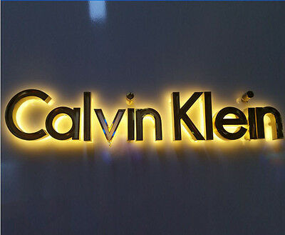 Custom size frontlit stainless steel Sign,Neon Signs,Channel letter led sign 4