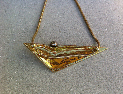 SIDNEY CARRON - Collier signé - FRENCH MODERNIST - Necklace signed - VINTAGE 8
