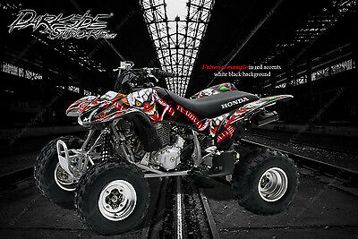 "HONDA 1993-2006 TRX300EX GRAPHICS DECALS KIT /""THE DEMONS WITHIN/"" FOR OEM PARTS"