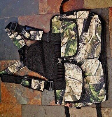 Camo Colour Hunting Gun Dog Handlers, Vest,Work K9 New Vest for Shooting