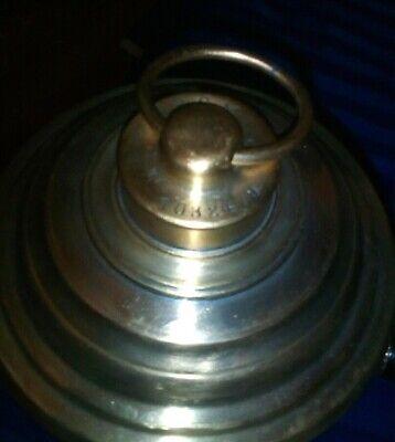 Apothekerflasche Gefäß Tinkturgefäß Messing Pharmazie Heilkunde Antik um 1900 8