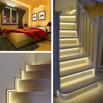 5m 10m 20m LED Strip RGB stripe Band streifen 5050/3528 Lichtband Licht warmweiß 2