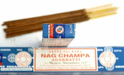 3 Packs Original Satya Sai Baba Nag Champa Incense Sticks  Joss Insense Genuine 7