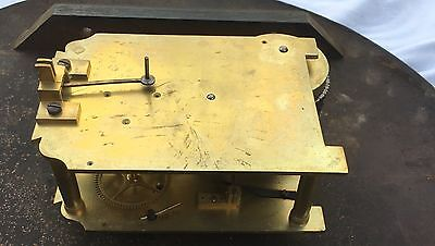 "antique Chain Fusee Dial Clock with an  18""all metal Dial with clen movement 11"