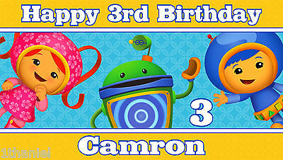 Victorious Birthday Banner Personalized Custom Design Indoor Outdoor Party