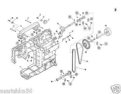 Printed elna sp, t sp and su sewing machine service manual (smm1454).