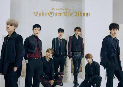 WAYV TAKE OVER THE MOON 2nd Mini Album CD+POSTER+Photo Book+2p Card K-POP SEALED 3