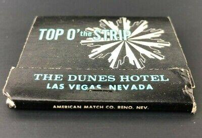 Vintage Matchbook The Dunes Hotel & Country Club Las Vegas Nevada Advertising 4