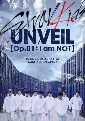 STRAY KIDS [I AM NOT] Album NOT Ver CD+Photo Book+3p Card+GIFT K-POP SEALED 4