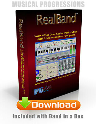 Band In A Box 2020 Pro Windows Digital - Audio Music Software - New Full Retail 4