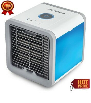 AU NEW Portable Mini Air Conditioner Cool Cooling For Bedroom Cooler Fan 2