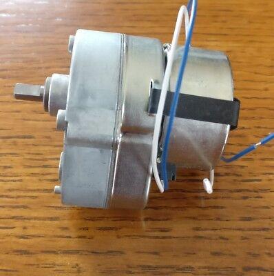 8mm D-shaft dia. 8 RPM 3RPM 21 RPM choose 1 RPM /& 42RPM EZ-Swap DC Motor