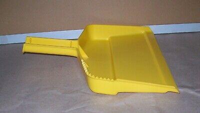 Restaurant Equipment Bar Supplies CASE OF 6 CARLISLE PLASTIC DUST PAN YELLOW 2
