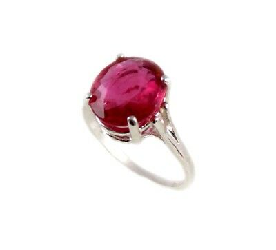 Red Sapphire Ring 5¼ct Antique 19thC Medieval Sorcery Psychic Anti-Black Magic 3