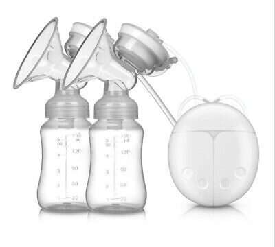 BPA Free Double Microcomputer Electric Breast Pump Breast + Therapy Gel Pad 4