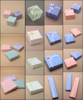 Jewellery Gift Boxes Necklace Ring Bracelet Wholesale High Quality Bulk Kraft 4