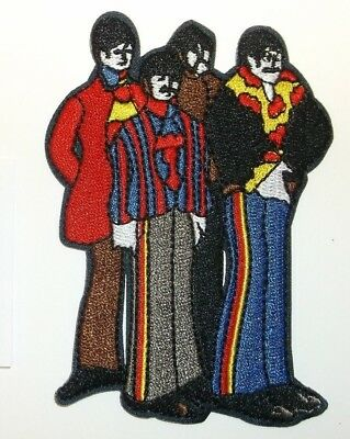 The BEATLES Embroidered Patch Patches~Many Versions~Quality~Iron on Sew~Collect 5
