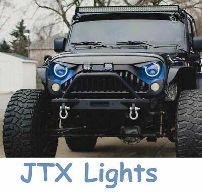 """1 pr 7/"""" Round Spread for Toyota Hilux LN46 RN30 RN40 RN41 N30 N40 N41 Headlights"""