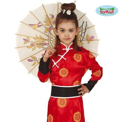 Childs Girls Chinese Fancy Dress Costume Kids China Girl Oriental Outfit fg 2