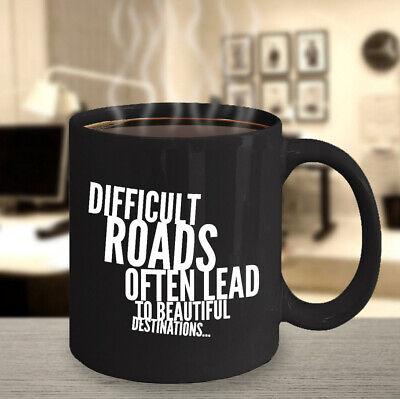 Coffee Mug Ceramic Black 11oz Tea GET S*HT DONE Quote Motivation Inspiration