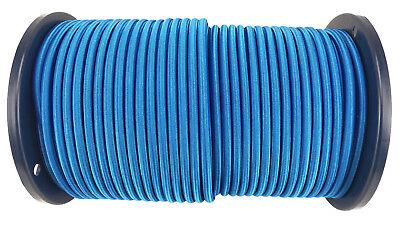 CORDE ÉLASTIQUE 6 COULEURS 1-100m 4-12mm expandor marin camping caoutchouc gomme