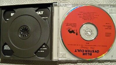 """Blue Oyster Cult """"The Thing !"""" Double Cd Fat Jewel Case Live In Nyc 1981 Bm036/2 4"""