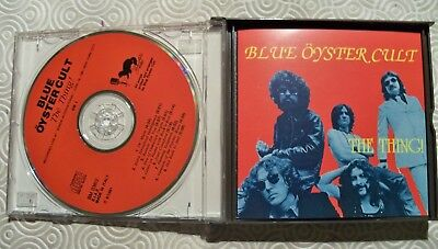 """Blue Oyster Cult """"The Thing !"""" Double Cd Fat Jewel Case Live In Nyc 1981 Bm036/2 2"""
