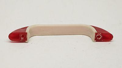 Red & White Vintage Plastic Bridge Pull 6