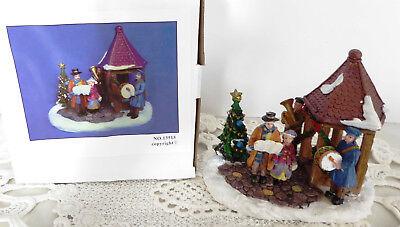 Miniatur Musikengelpaar Trompeter und Sänger Höhe ca 4,8 cm NEU Weihnachtsfigure