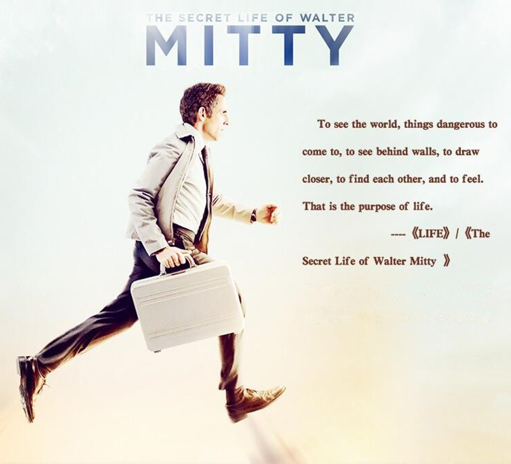 The Secret Life of Walter Mitty Handmade Genuine Leather Men's Bifold Wallet 7