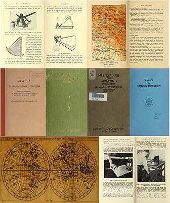 140 Rare Old Books On Cartography, Maps, Map Making, Ancient Maps & Atlas On Dvd 7
