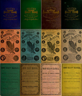 200 Old Books & Publications On Money Counterfeiting & Counterfeit Detector Dvd 2