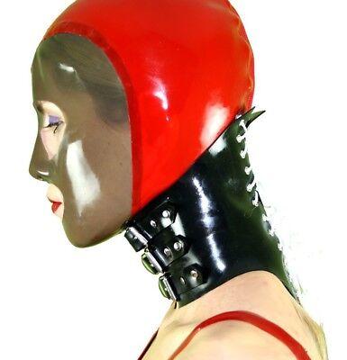 Halskorsett aus Gummi zu Latexbekleidung etc. Hals Korsett 32 - 38 cm Umfang 3