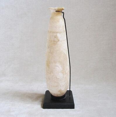 ANCIENT ALABASTER ALABASTRON (Perfume Vase), Cypriot, circa 6th-4th Century B.C.